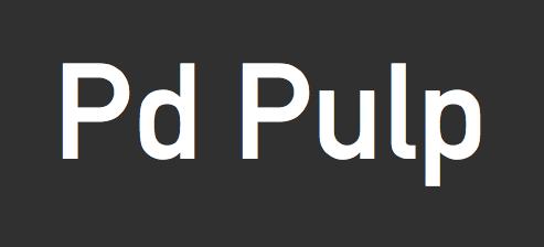 Pd-pulp