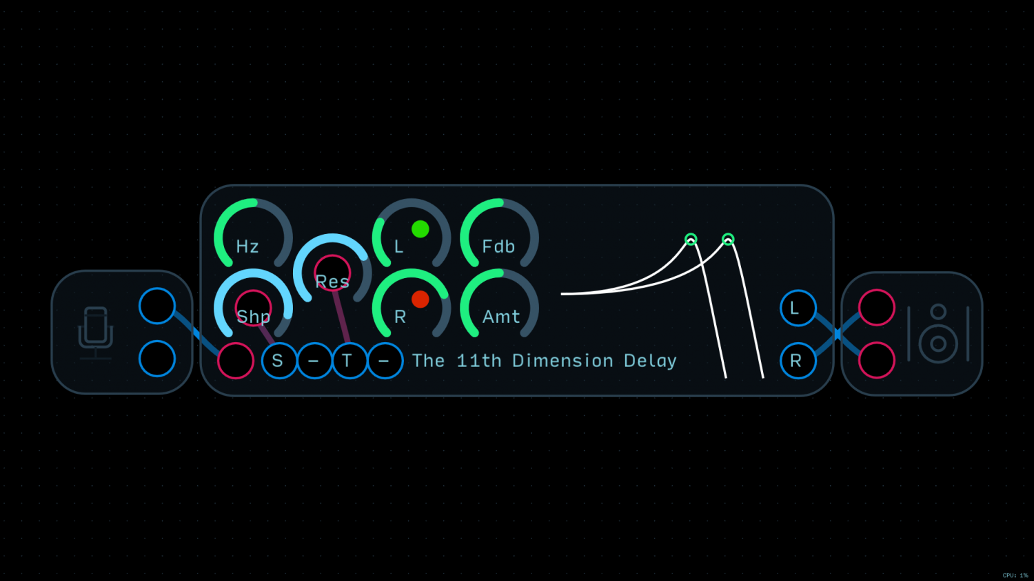 How to use nodes microphone node custom effect tutorial the how to use nodes microphone node custom effect tutorial the 11th dimension delay baditri Image collections